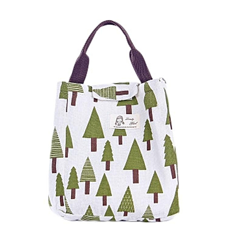 Hot Sale Cartoon Pattern Bag Cooler Bag Bento Picnic Pouch Lunch Container Mama'S Bag