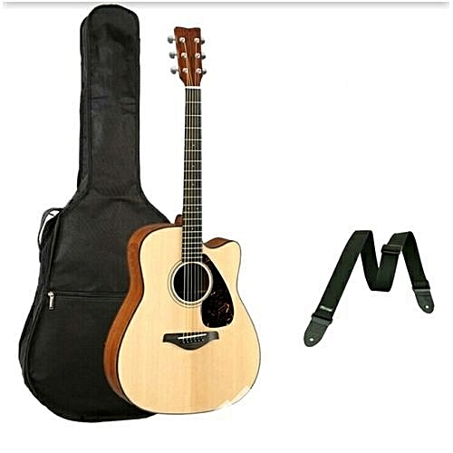 Acoustic Box Guitar With Bag And Strap/38''