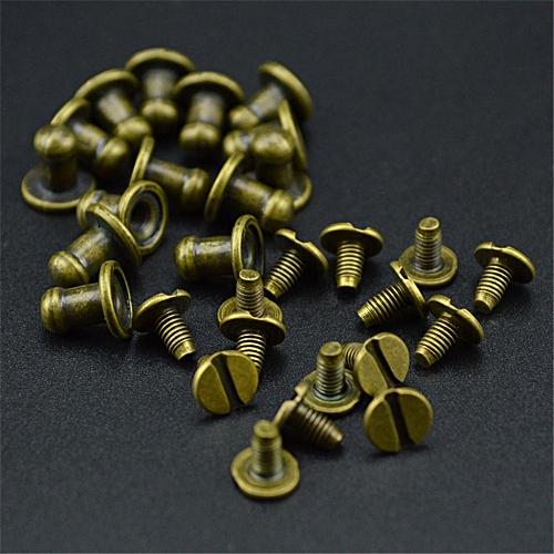 15PCS Mini Jewelry Box Chest Case Drawer Cabinet Door Pull Metal Knob Handle