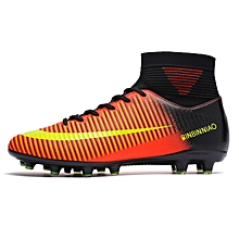 58c9586659a7 High-tops Soccer Shoes Football Boots Suit Fashion Men And Kids Hot Sale  Sports Shoes