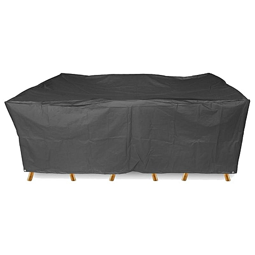 Varies Size Waterproof Furniture Cover Garden Table Chair Rectangular Shelter AU