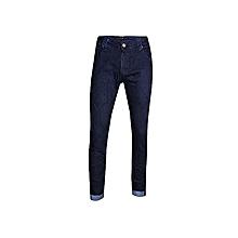 2880255f85 Fashion Quality Men's Casual Slim Fit Jeans - Blue