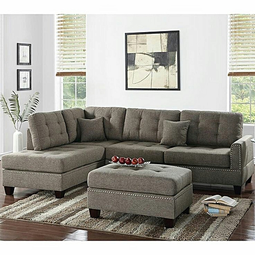 Mabel L-Shaped Sofa (Delivery Within Lagos Only)
