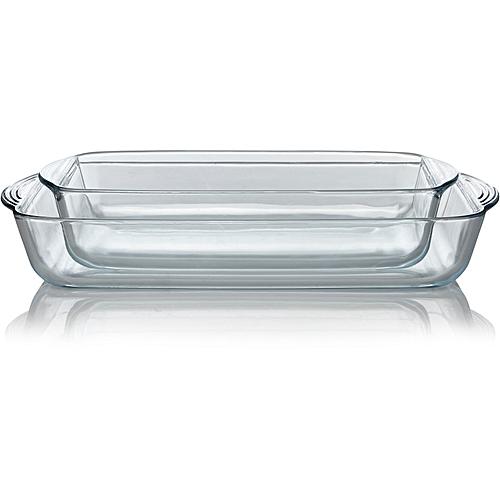 Glass Roaster - Set Of 2