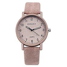 38360a786755 Ladies Nubuck Leather Wristwatch - Beige