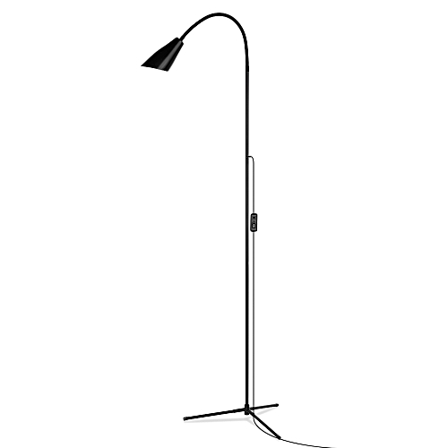 X53030 Floor Light Tripod Flexible Neck Desktop Bedside Dimmable Clamp Lamp