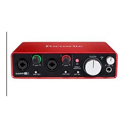 Scarlett 2i2 Audio Interface 2nd Gen