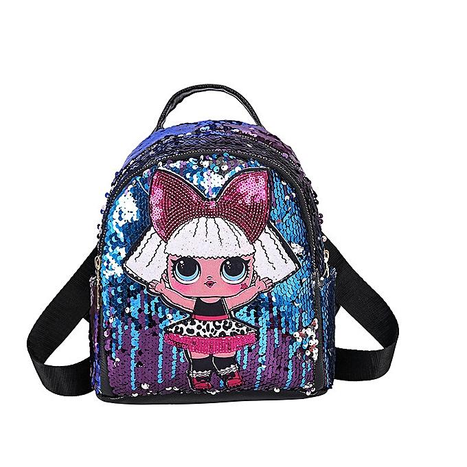 51be0d902d90 Glitter Women Sequins Backpack Teenage Girls Travel Large Capacity  Backpacks Bags Bling Rucksack Children School Bags Bagpacks