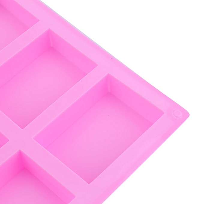 Smart High Quality The Silicone Soap Mold Rectangle Handmade Soap Making Supplies Kitchen Supplies Baking Utensils 6 Hole 3 Groups Soap Molds Soap Making