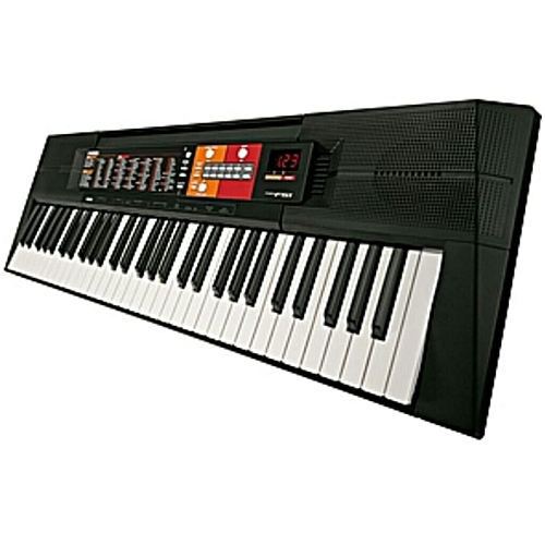 PSR-F51 61-KEYS, LEVEL KEYBOARD PIANO WITH ADAPTOR - BLACK