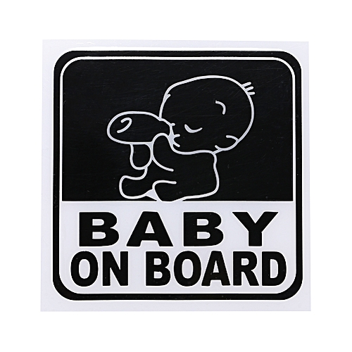 Baby On Board Safety Warning