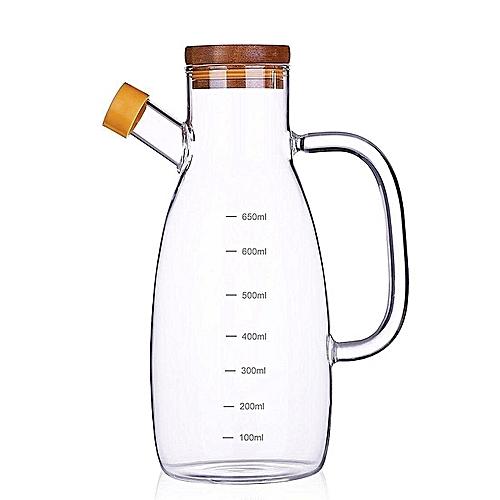 23 Oz Olive Bottle Set Vinegar Dispenser Container Pourer Sprayer Kitchen