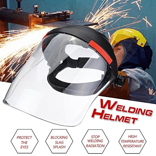 Anti-UV Anti-shock Transparent Len Welding Helmet Welder Face Guard Solder Mask