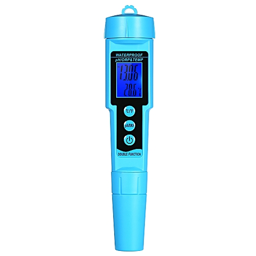 Professional 3 In 1 PH/ORP/TEMP Meter Water Detector Multi-p