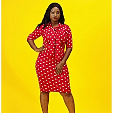 d5c784a19dc Alana Polka Dot Midi Dress - Multi