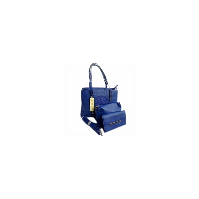 Susen Tradewool Leather Handbag - Blue