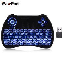 KP - 810 - 21Q Wireless Mini Keyboard ENGLISH - Black