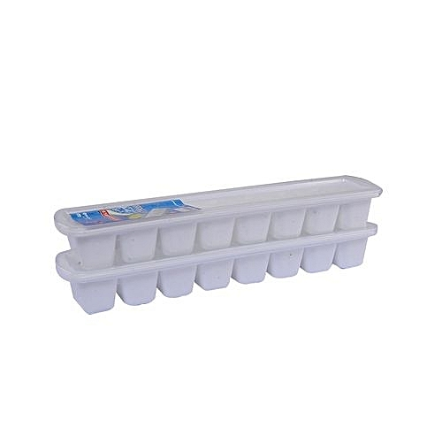 Plastic Ice Tray 2 Pieces With Cover