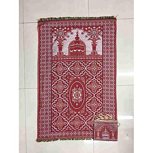 Muslim Prayer Mat With Bag For Travel Bag Prayer Mat ,Islam Prayer Rug With Bag Sets HGV-030
