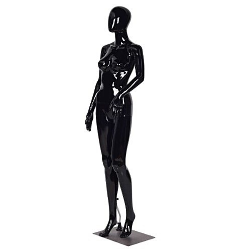 Female Egghead Mannequin - Black