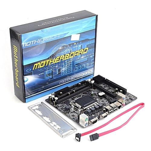 Generic h55 lga 1156 ddr3 ram 8g Desktop Computer Motherboard 6 Channel Mainboard