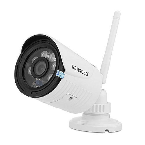 HW0022 - 1 1080P 2MP IP Camera Wireless WiFi Outdoor Security Night Vision Motion Detection US Plug - White
