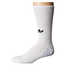 5cc6e316f31fb9 Adidas Originals Originals 3-Stripe Statement Single Crew Sock - Men  039 s