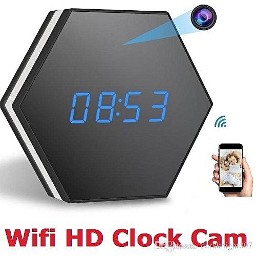 WIFI Remote Wireless Clock Hidden Camera