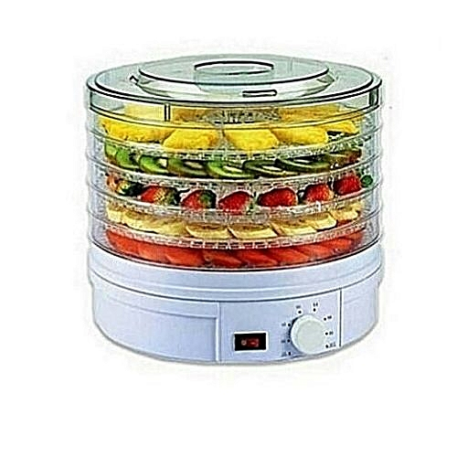 5 Tier Food Dehydrator - Food And Vegetable Dryer