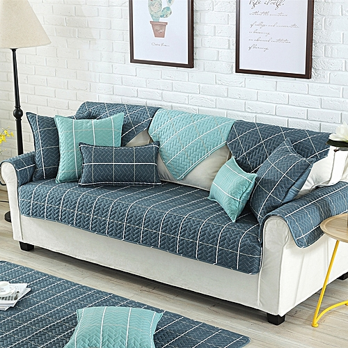Nordic Style Magical Sofa-cover Corner Fabric Double Towel Sofa Cover Set Slip Cover Sofa Cover 70 X 70cm