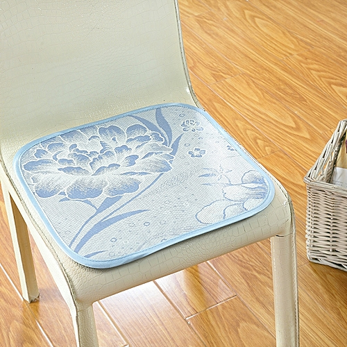 Summer Non-slip Ice Silk Chair Cooling Breathable Cushion Tatami Sofa Seat Cushion Health Mats