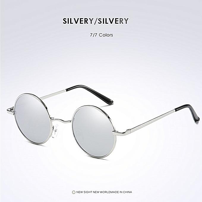 327b073391cf Driving Metal Eyewear New Brand Designer Classic Polarized Round Sunglasses  Men Small Vintage Retro John Lennon
