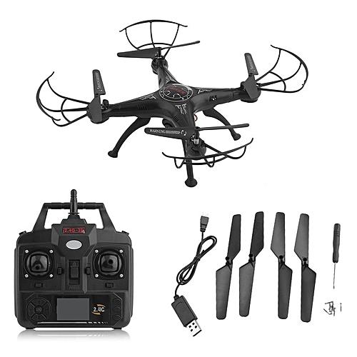 TA X5SW-1 6-Axles Gyro RC Quadcopter 2.4G 4 CH Drone With 0.3MP WiFi FPV Camera Black