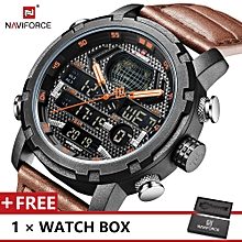 Used, Top Luxury Brand Watch Fashion Sports Men Quartz Watches Male Wristwatch NF9160 for sale  Nigeria