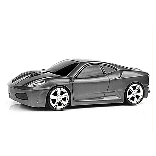 New Style Computer Mouse Sports Car Shape Wireless Mouse 1600 DPI Optical Gaming Mouse Mice For PC Laptop
