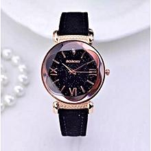 617410e1f7c Ladies Elegant Quartz Wristwatch - Black