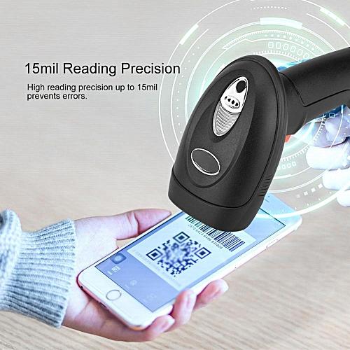 QR Reader Code IP54 QR Code Scanner 15mil High Frequency Horizontal 53° & Vertical 39° USB QR Code Reader