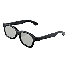 7cce3cbb3fb Black Round Polarized 3D Glasses For DVD LCD Video Game Theatre TV Theatre  Movie