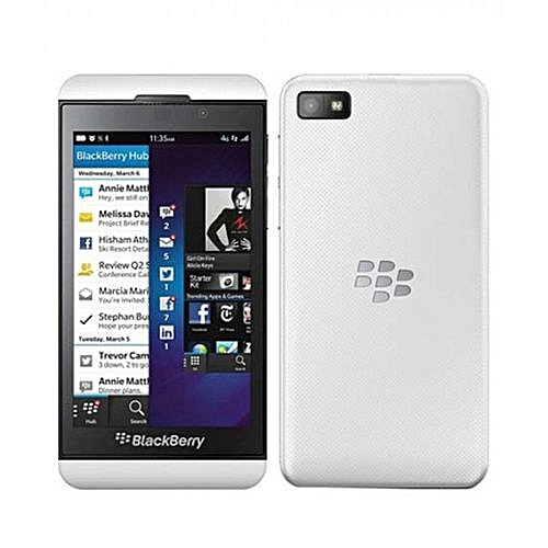 Z10 4 2 Inches (16GB 2GB RAM) 3G/ 4G LTE OS 10 Smart Phone -- White