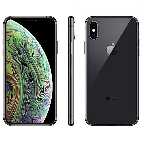 IPhone XS Max (4GB RAM, 512GB ROM) IOS 12 (12MP + 12MP)+7MP (Dual Sim) - Space Grey