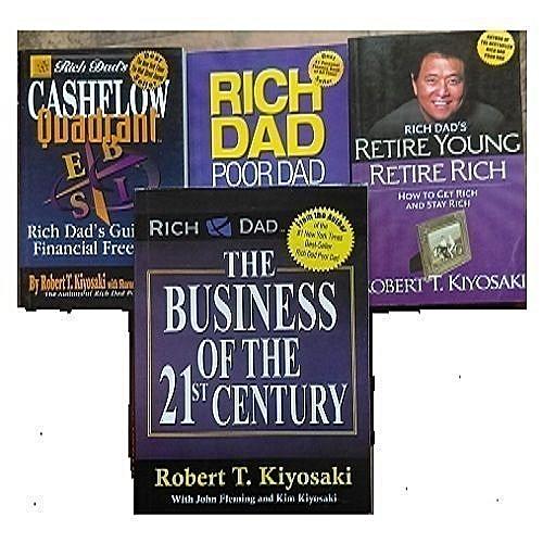 Rich Dad Series Book Bundle - Set Of 4