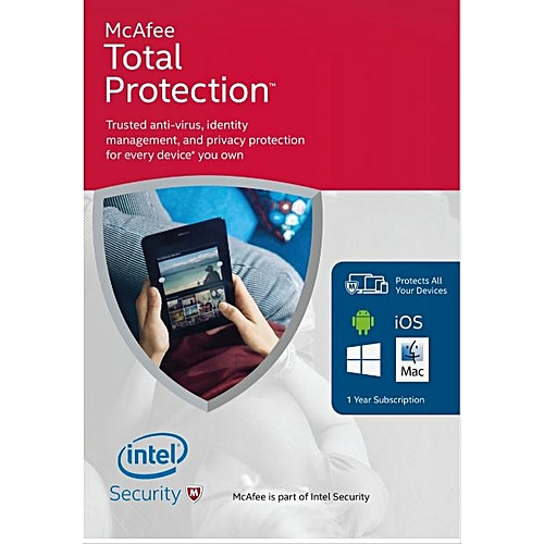Total Protection 5 Devices 2019 12 Months - Download Version