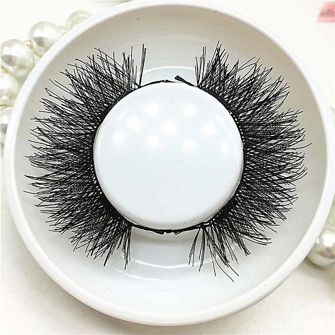 45b257b7933 ... 1 Pair 3D Magnetic False Eyelashes Lashes Reusable False Magnet ...