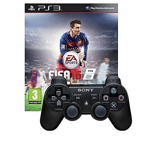 PS3 FIFA 16 + Dualshock 3 Controller