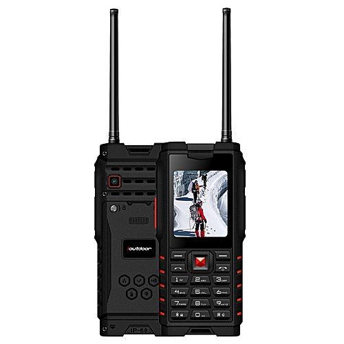Ioutdoor T2 IP68 Waterproof 2.4 Inch 4500mAh UHF Walkie Talkie Dual SIM Card Feature Phone Lanuage Version 2