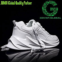 sports shoes 69cb9 ddc29 2019 New Mens Casual Athletic Outdoor Sneakers-White