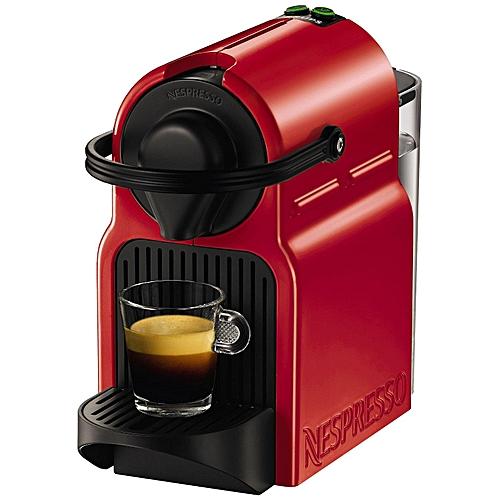 Inissia Krups Coffee Machine - Red