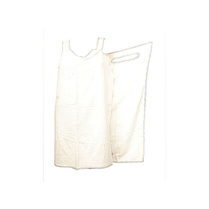 8f20c61070 Generic Female Bath Robe   Body Wrap Towel - White