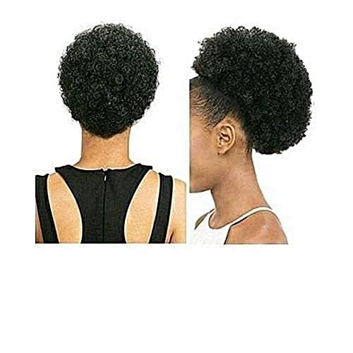Adjustable Afro Hair Bun + Free Hair Gift