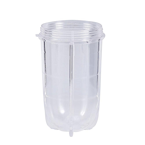Replacement Parts For 250W Magic Bullet Blender Juicer Transparent Plastic Tall Cup Mug